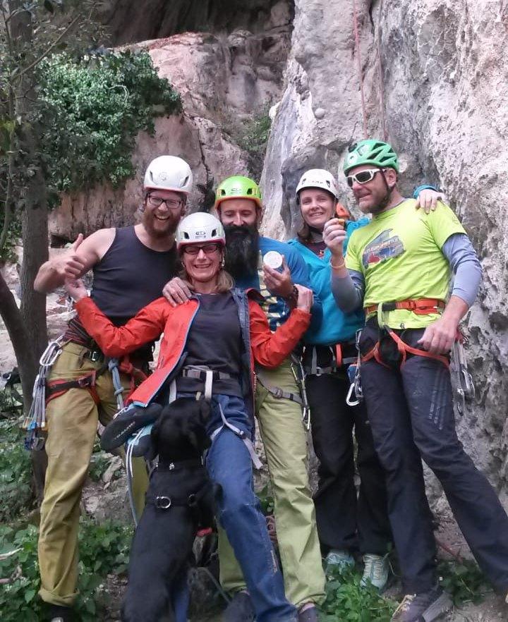 Bärtige Kletterer, Süditalien, Schrauber-Crew Amalfi-Küste, Oreste, Flossen-Fett